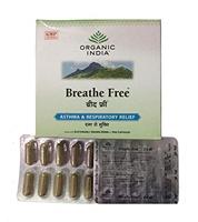 Organic India Breathe Free 10 Capsules Pack Of 1